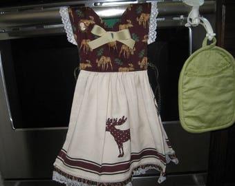 Moose Kitchen Towel Dress