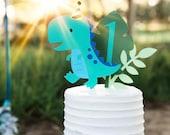 Dinosaur Cake Topper- smash cake, first birthday