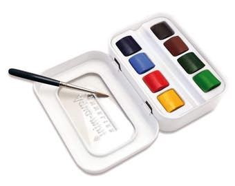 Sennelier L'Aquarelle Aqua-mini Travel Watercolor Set