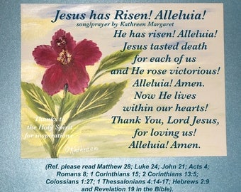 Jesus has Risen! Alleluia!