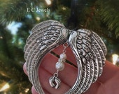 Pre HOLIDAY SALE Memorial Baby / Miscarriage Ornament