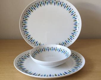 syracuse carefree nordic platters and bowl
