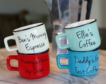 Personalised Espresso Cup
