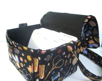 """Large 4"""" Size Coupon Organizer / Coupon Bag /Budget Holder Box Attaches to Your Shopping Cart Sewing Notions -- Pick Your Size"""