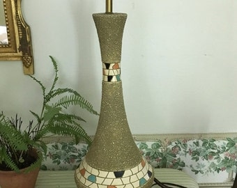 Unique Chalkware Lamp Related Items Etsy