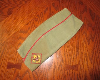 Boy Scout  Garrison Cap- Vintage