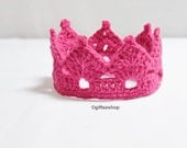 Crochet Crown Pattern-Tiara Headband- Crown Headband- Crown Pattern- Crochet Baby Crown Pattern n50