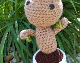 Inspired by Groot Stuffed Doll