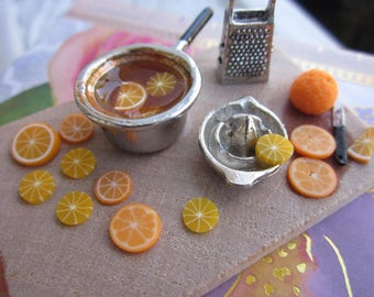 Orange Topping Prep Board