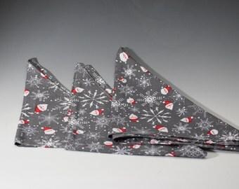 Christmas Tie on Dog Winnie Bandana