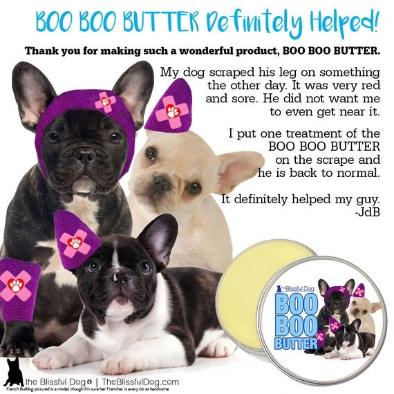 french bulldog boo boo butter handcrafted all natural herbal