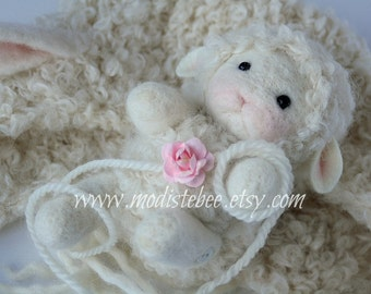 Lamb Stuffy (ONLY) Newborn Photography Prop