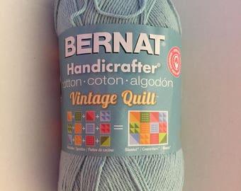 Bernat Handicrafter Cotton Yarn 400 gram skein - Morning Mist