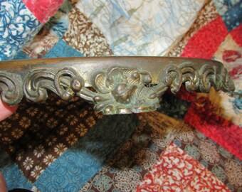 Antique  MIRROR PLATEAU Victorian Mirror Display Vanity