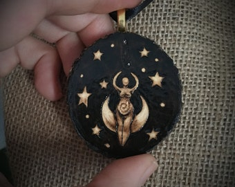 Goddess of the Night Pendant