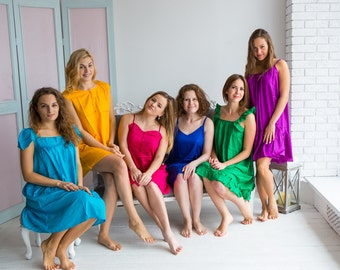Cute Jewel Toned Nighties for every woman who loves a comfortable sleep