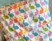 Bunnies and More Bunnies Standard Pillowcase, Charity Item, MadebyKids4Kids