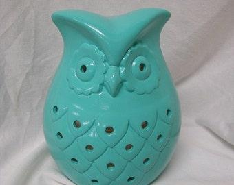 Owl Garden/Kitchen Candle Holder