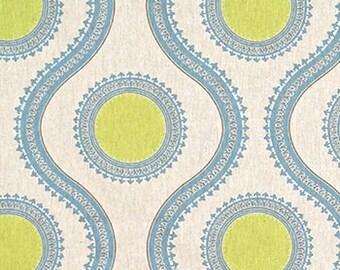"Pair (Two 50"" wide) designer curtain panels, drapes Susette florence laken"