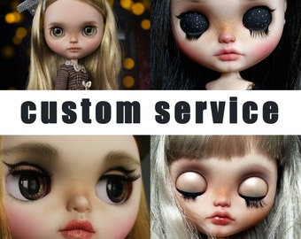 custom service for BLYTHE - by Karolin Felix