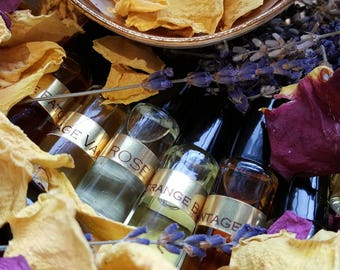 Vintage Patchouli. Aged Wild and Dark Patchoulis. Botanical Perfume Oil. 5 ML