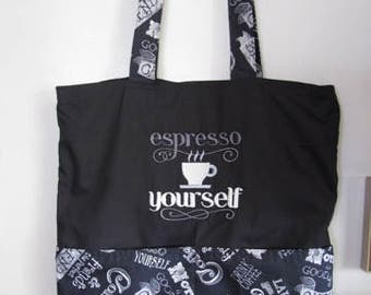 Espresso Eco Friendly Tote, Purse, Bag