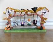 Halloween Decoration, Vampire, Pumpkin, Frankenstein, Skeleton, Witch, Fall, Ghosts, Whimsical, Halloween, Tabletop Decoratio, Village