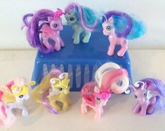 My Little Pony Lot of 7 Breezies Hasbro MLP Rare HTF
