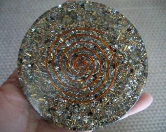 ORGONE Reiki Crystal Grid Charging Coaster - Charging Plate