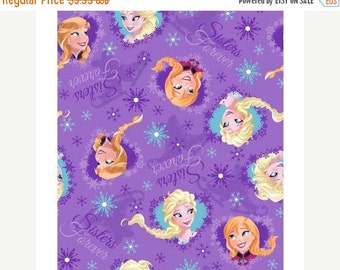 Gorgeous Sisters Forever Fabric--from Movie FROZEN-- 40-70% off Patterns n Books SALE