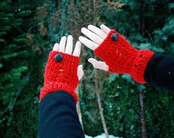 Sage - Wavy Lace Cowl Mitten Set - Easy Cowl Pattern - Easy Cowl Pattern - Crochet Neckwarmer Pattern - Crochet Fingerless Mitten Pattern