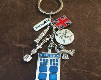 Doctor Who Inspired Key Chain