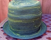 CUSTOM Choose Your Own Adventure Hat  Tophat Wearable, Moldable, Foldable ... upcycle, reuse, recycle, coil, sprial, festival, costume