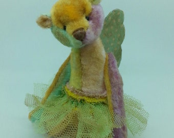 "Miniature Artist Bear 4"" from Bella Boo & me"