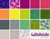 Wildside - Half Yard Bundle by Libs Elliott - Full Collection - 19 prints