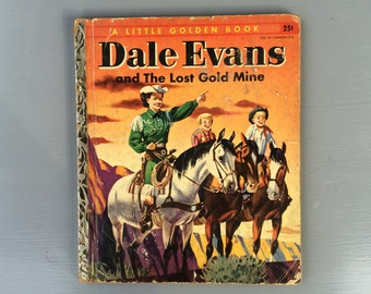 Vintage Little Golden Book starring Dale Evans