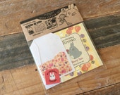 NEW- Totoro Mini Teabags Letter Set / Writing Paper with Envelope for packaging, invitations, Message, Thank You card