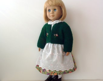 Bavarian Style Outfit for American Girl and Other 18 inch Dolls