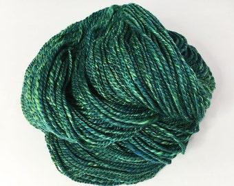 Handspun Merino Yarn for Knitting, crocheting or weaving - Lagoon - Handspun Yarns, UK