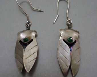 Small Cicada Earrings