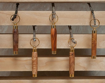 Key Ring -Toothpick Holder - Secret compartment