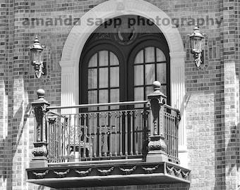 Ledson Hotel Sonoma photograph black and white