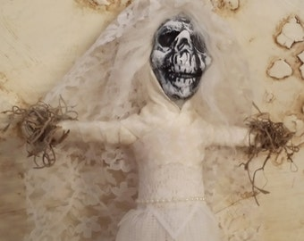 Skull Doll, Day of the Dead Bride, Skull Bride