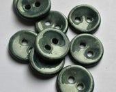 Lake Placid Ceramic Buttons