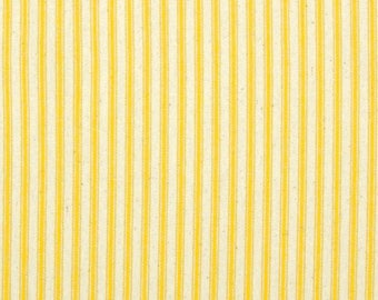 Ironing Board Cover custom sizes including brabantia, more ELASTIC around edges yellow and cream ticking fabric heavyweight pick your size