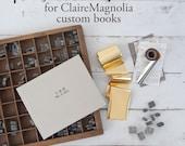 Personalization for ClaireMagnolia Custom Books