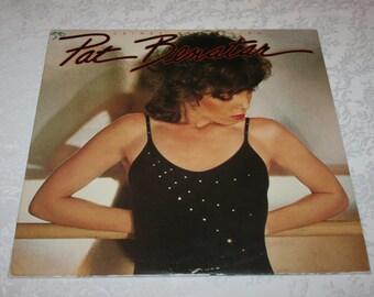 "Vintage Vinyl LP Record Album Pat Benatar "" Crimes of Passion "" 1980"