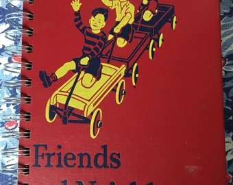 Friends & Neighbors Vintage Reader JOURNAL