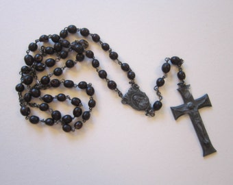 vintage rosary - as is