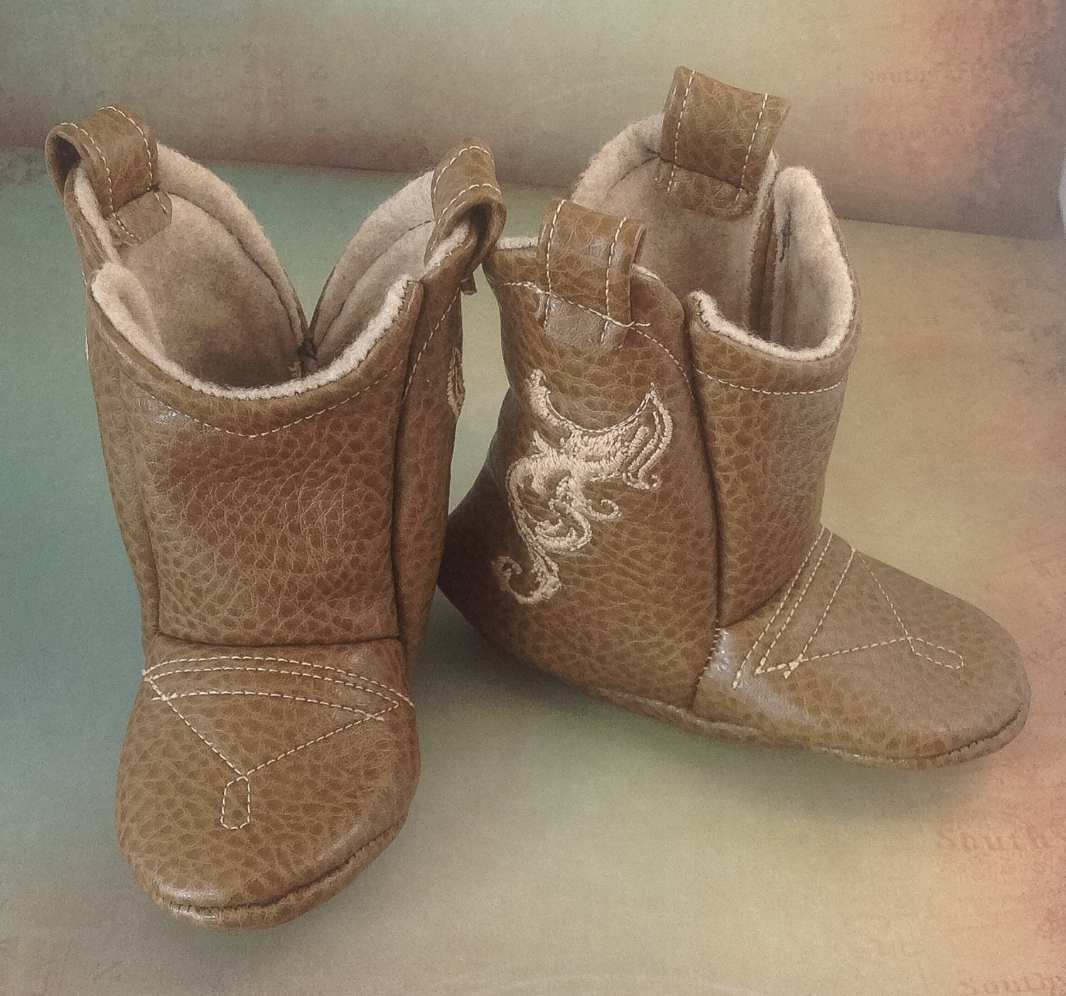 Baby Leather Cowboy Boots Choose your Leather & Stitching